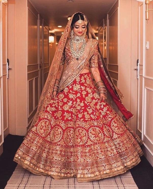 bridal lehenga for wedding